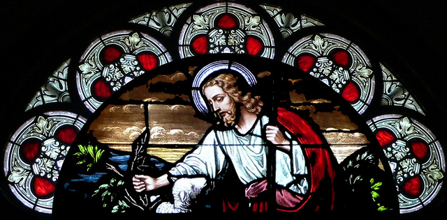 Jesus Stain Glass
